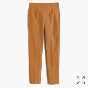 J. Crew Martie Dress Pants Gold Tan Stretchy